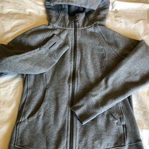 Lulu scuba hoodie gray